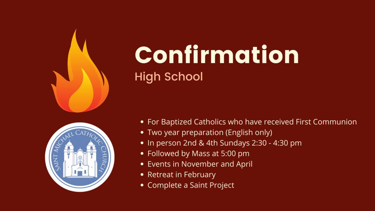 Confirmation High School