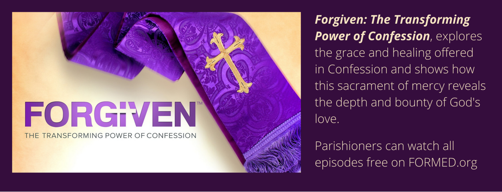 Forgiven The Transforming Power Of Confession Explores The Grace And Healing Offered In Confession And Shows How This Sacrament Of Mercy Reveals The Depth And Bounty Of Gods Love
