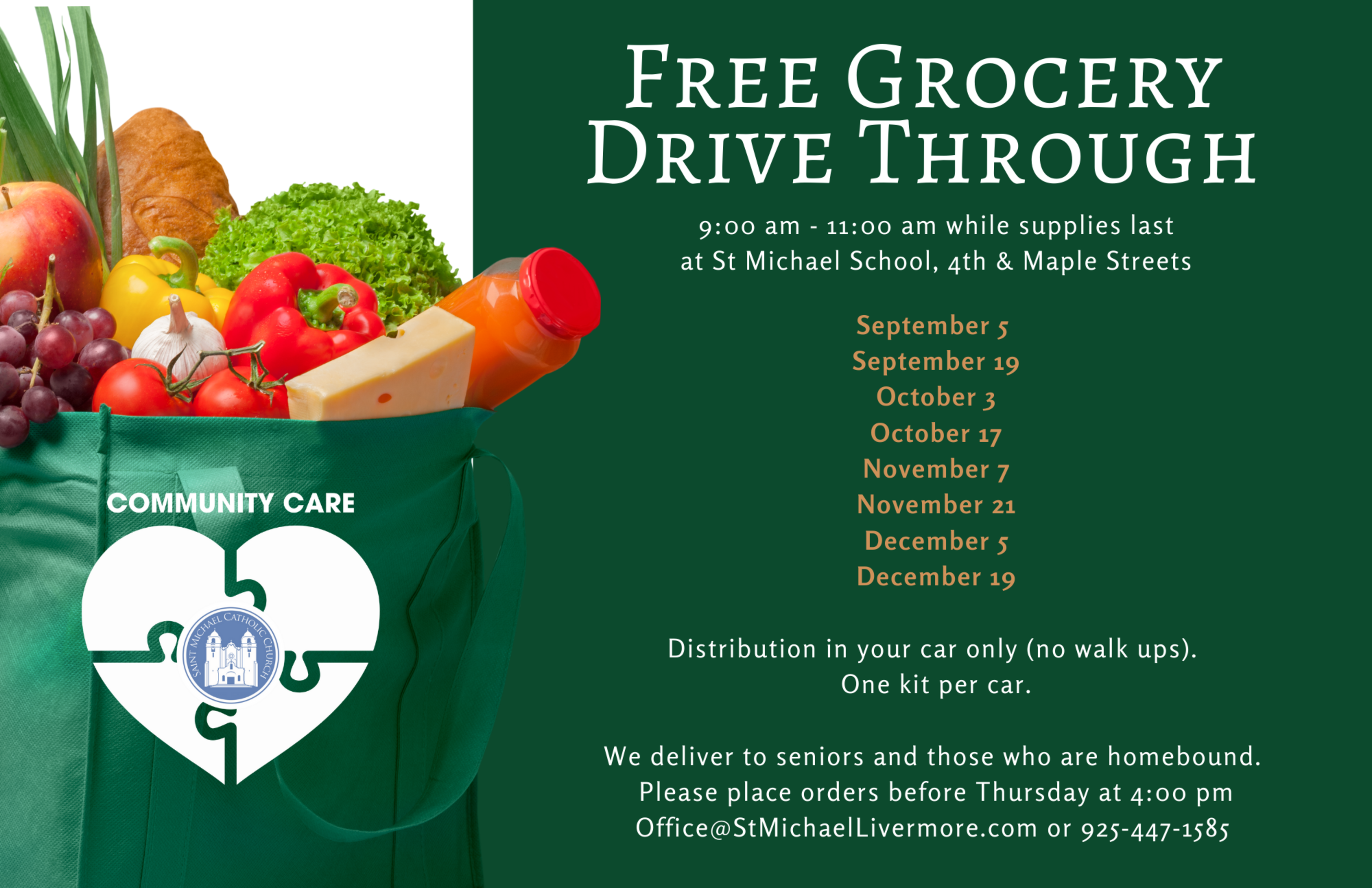 Free Grocery Drive Through Flier Final