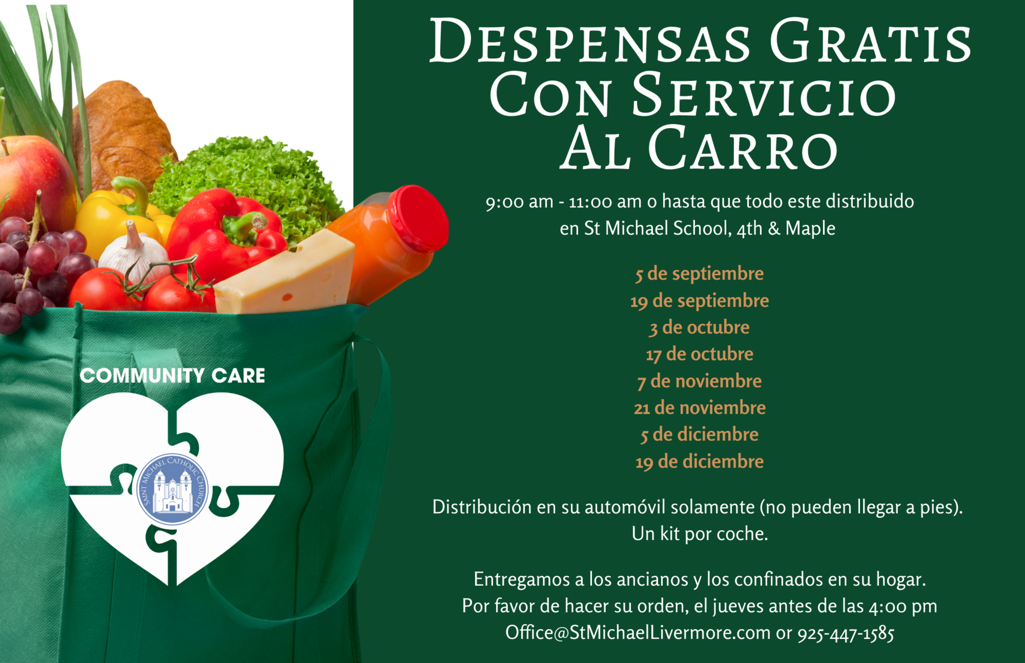 Free Grocery Drive Through Flier Final Spanish