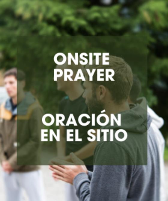 Onsite Prayer