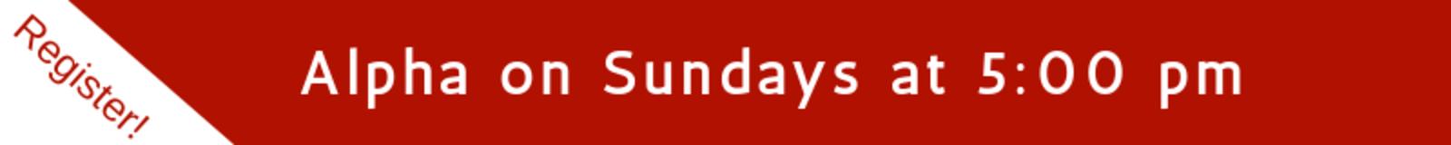 Alpha Buttons   Sunday