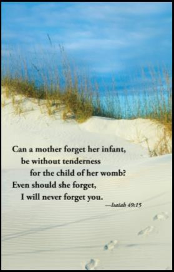 Can A Mother Forget Her Infant
