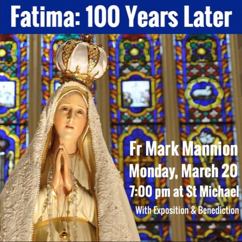 Fatima 100 years later
