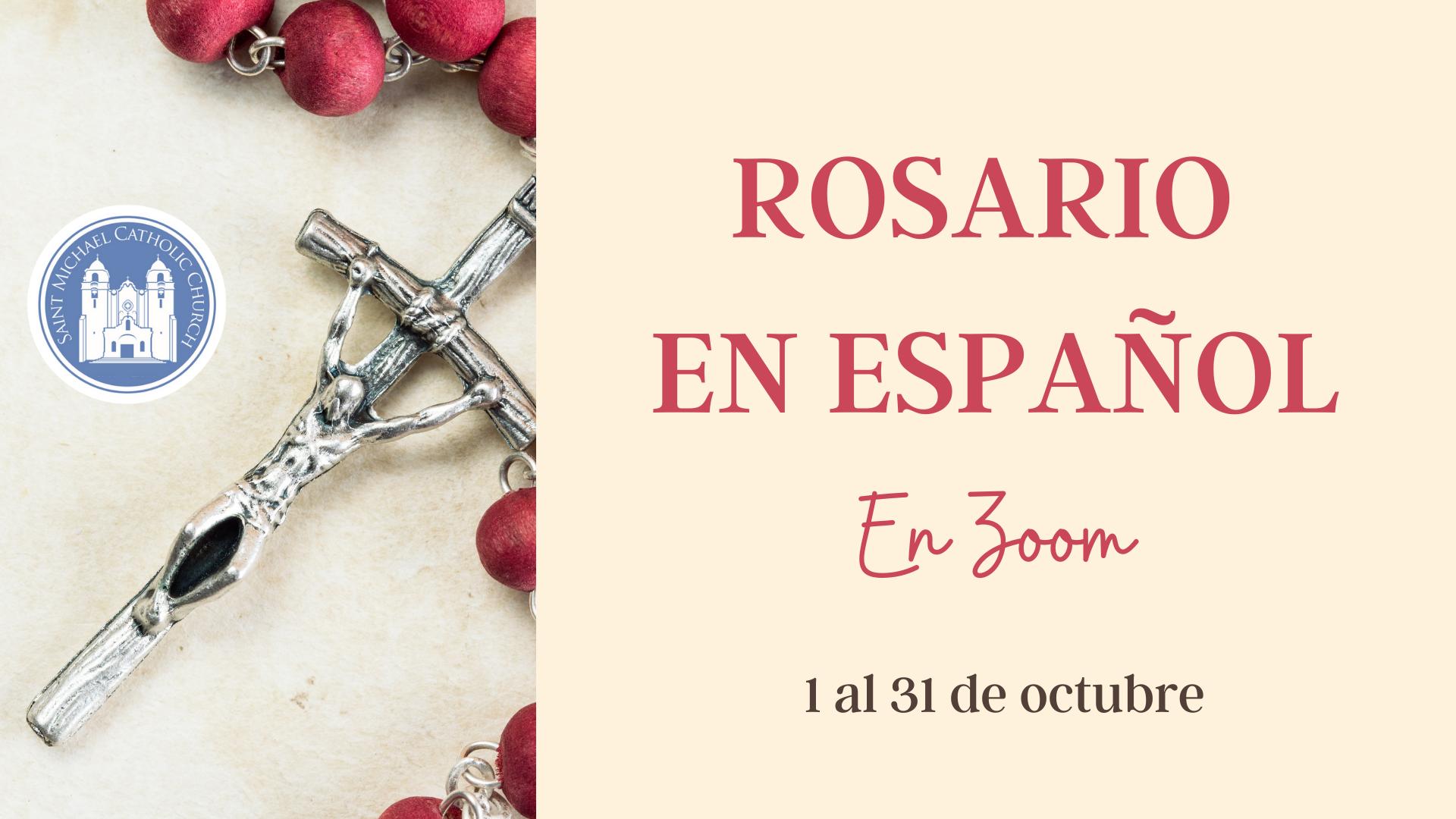 Rosario en espanol october 2020