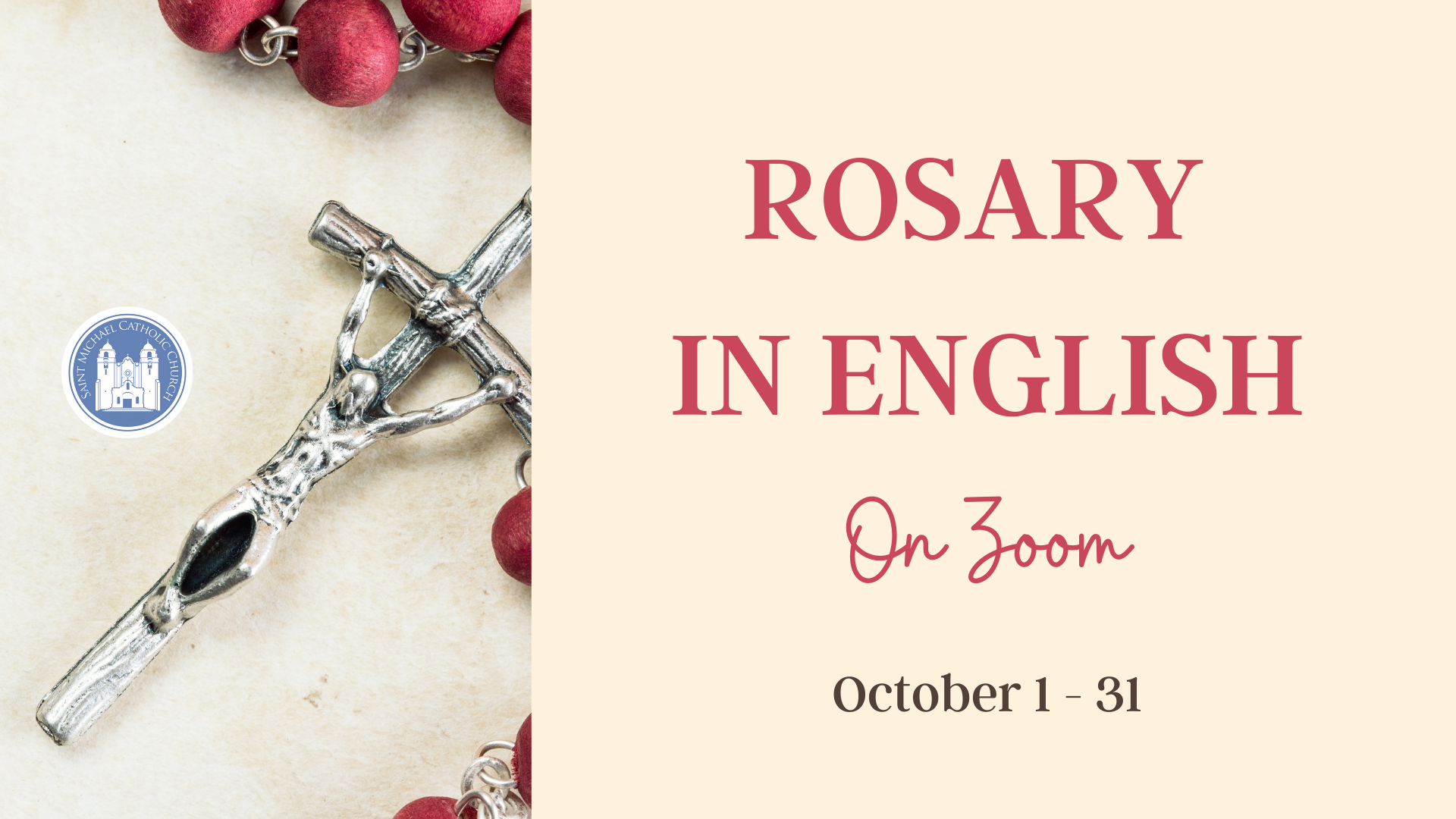 Rosary in English October 2020