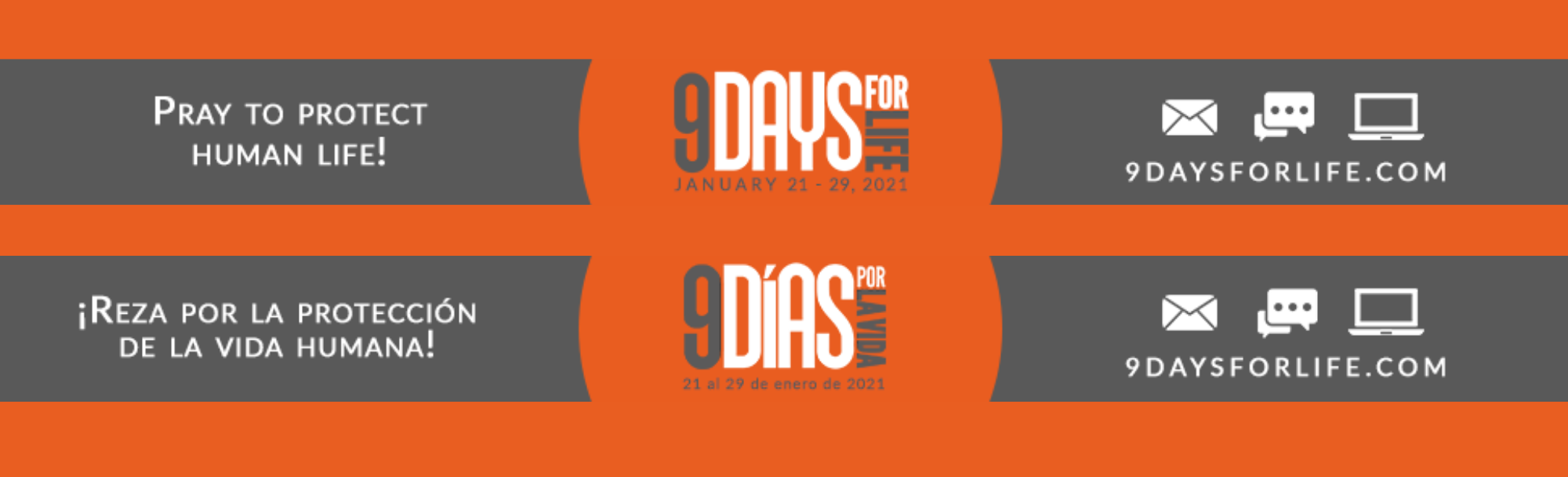 9 Days For Life Home Page Slider
