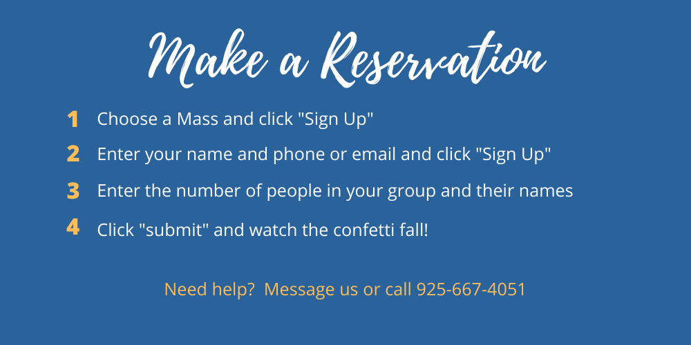 Choose A Mass And Click Sign Up 1