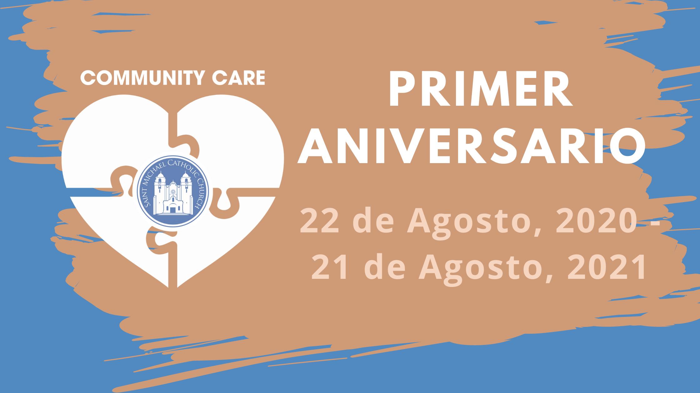 Community Care First Anniversary Spanish