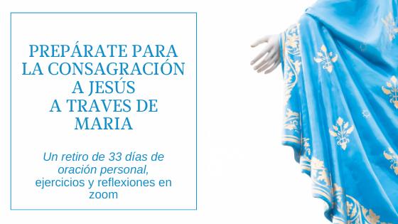 Consecration To Jesus   Spanish