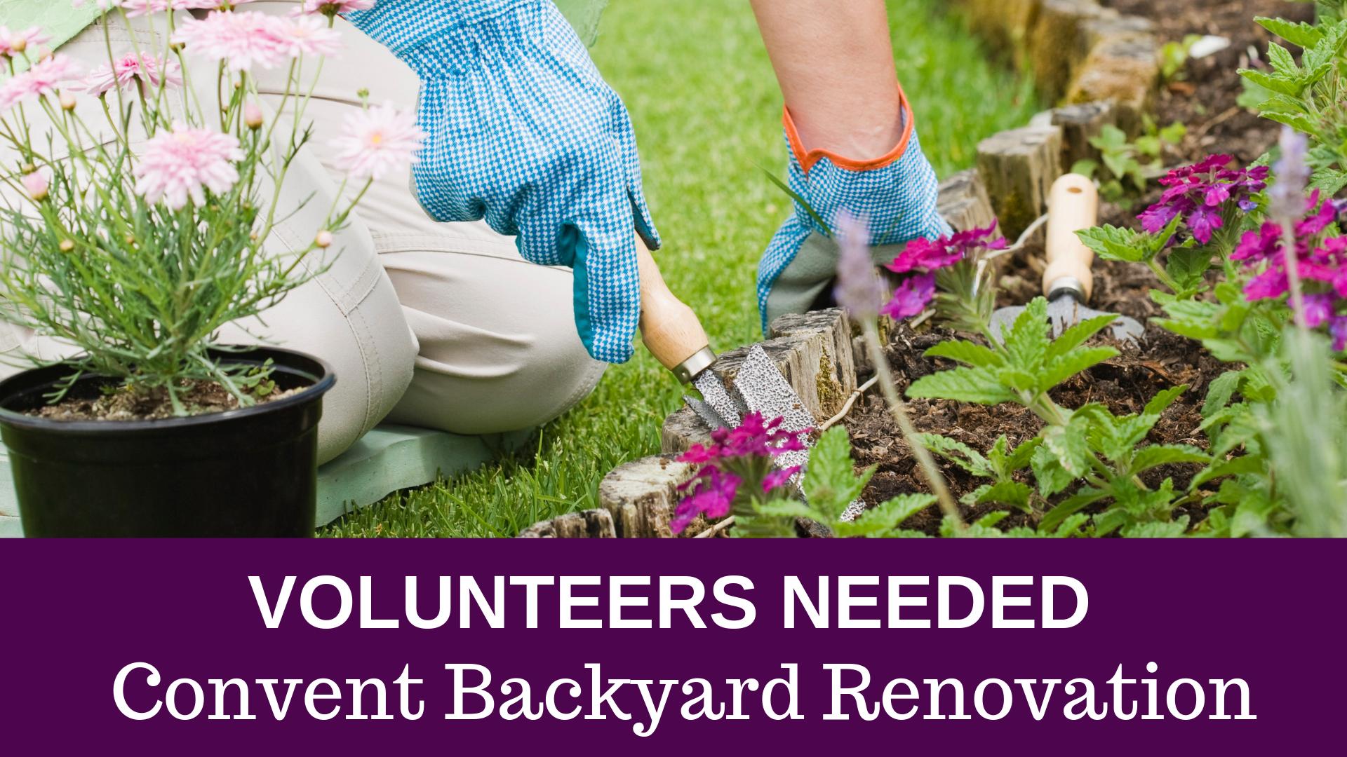 Convent Backyard Renovation   Fb Event