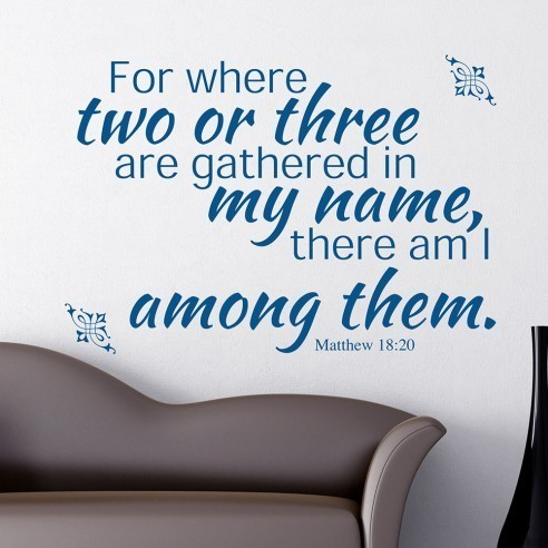 Drive Thru Prayer Two Are Gathered