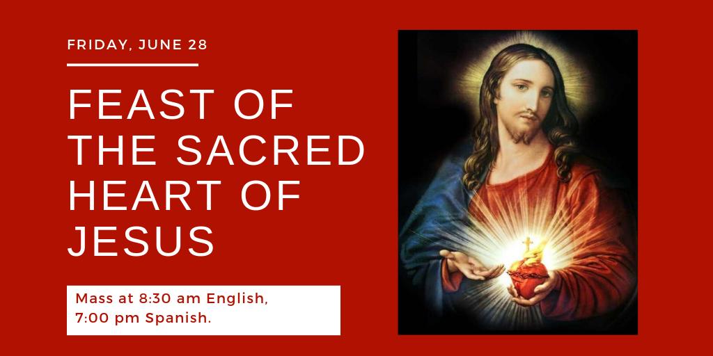 Feast Of Sacred Heart   Twitter