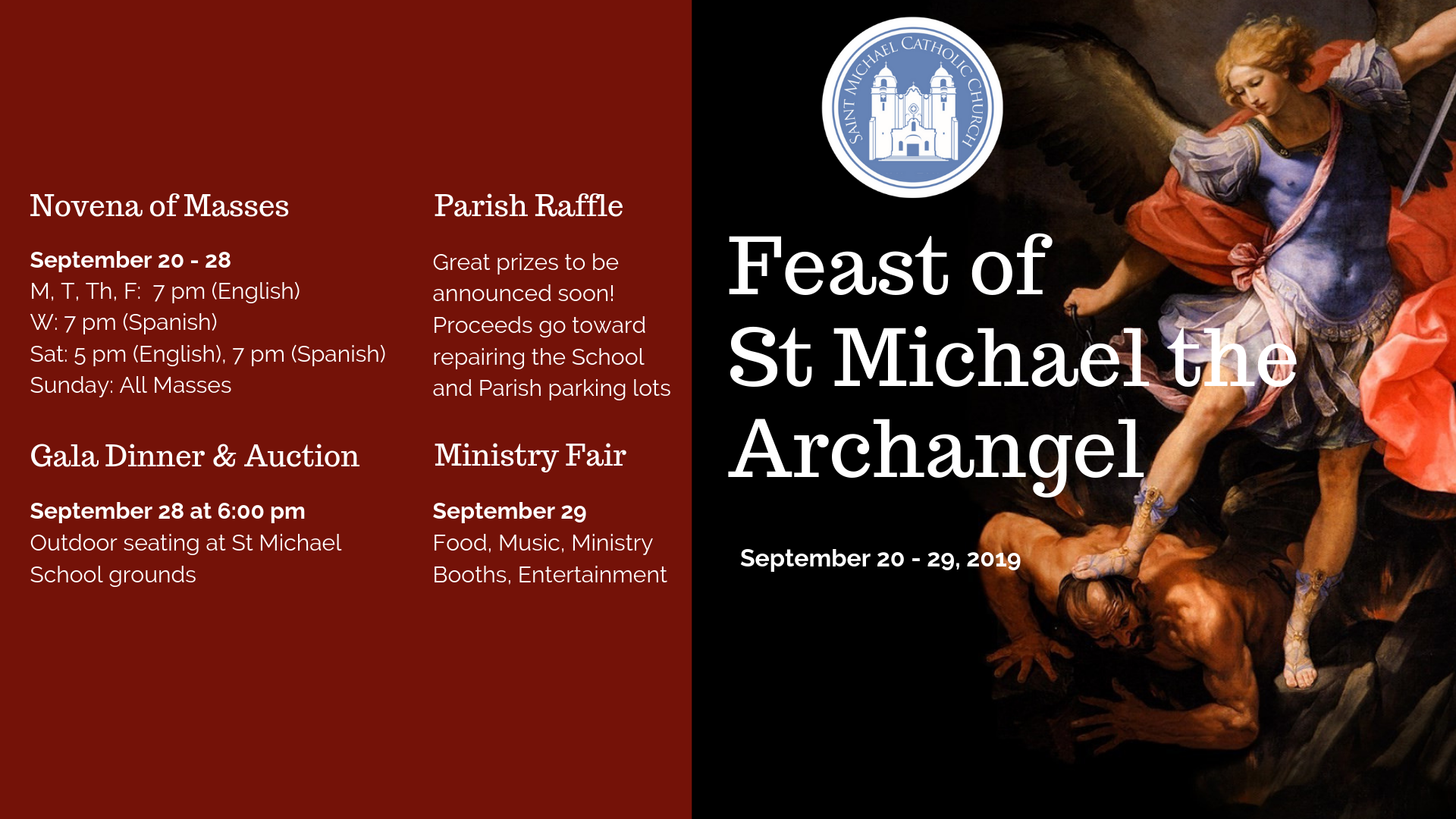 Feast Of St Michael   6 18 Website