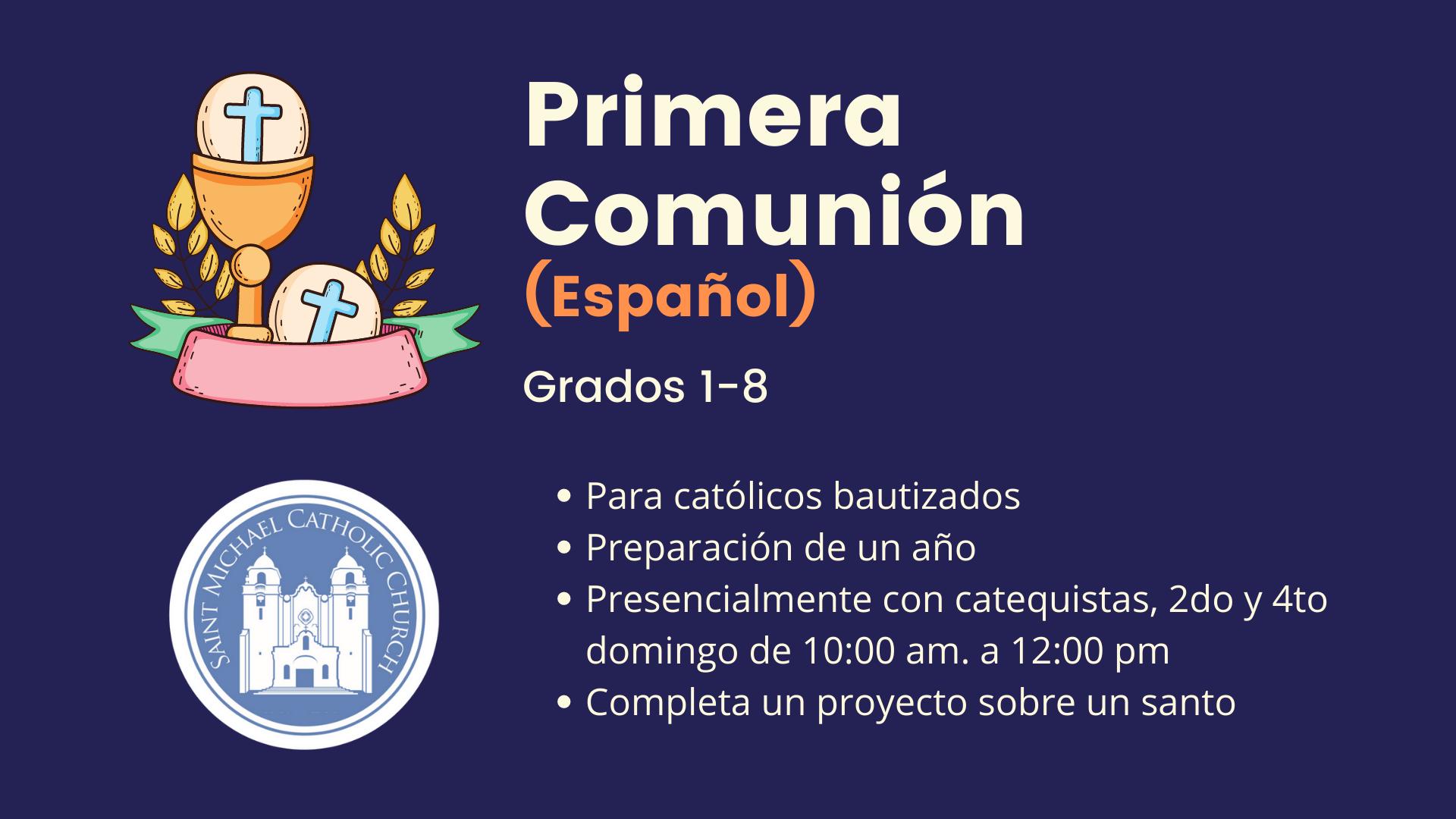 First Communion Espanol 1 8
