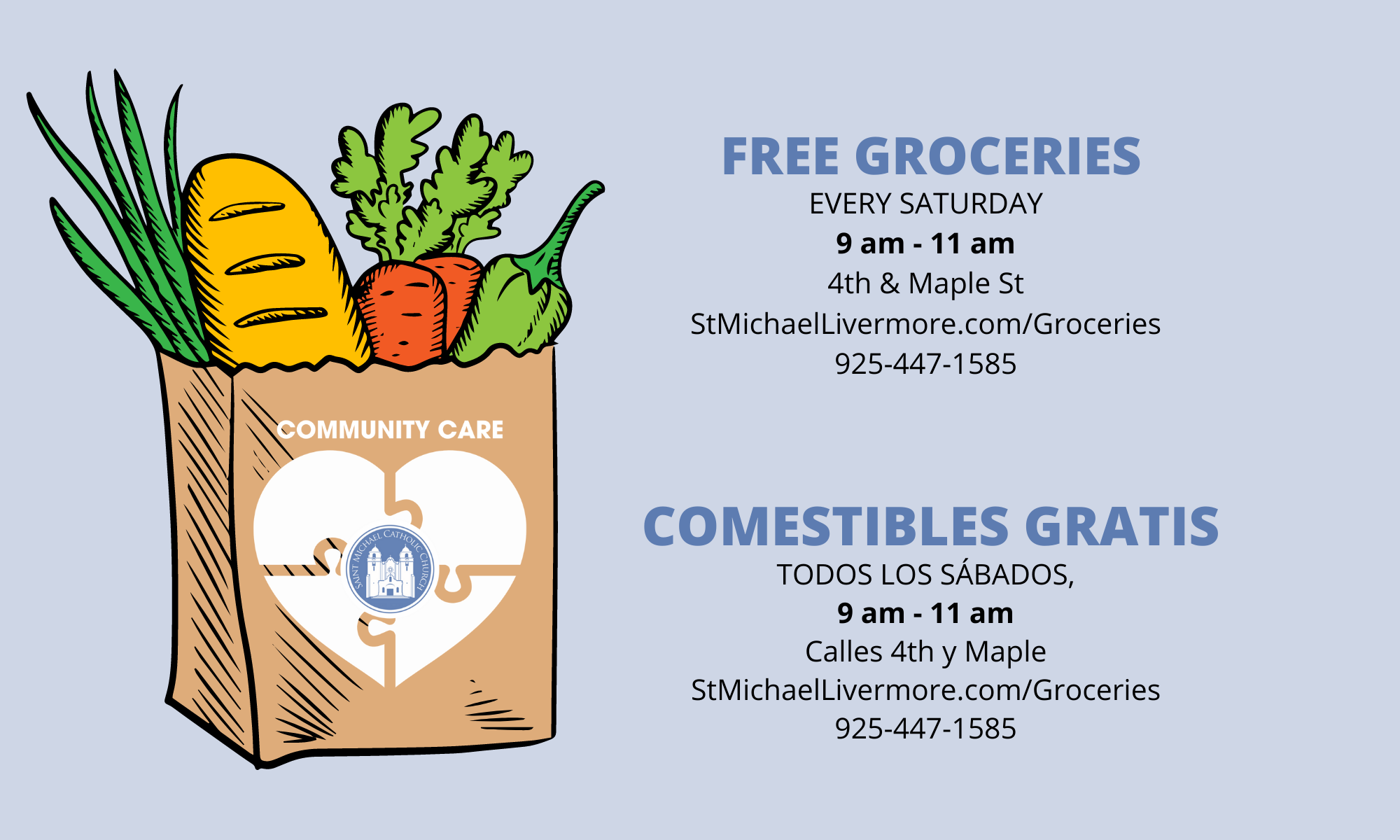 Free Groceries Every Sat