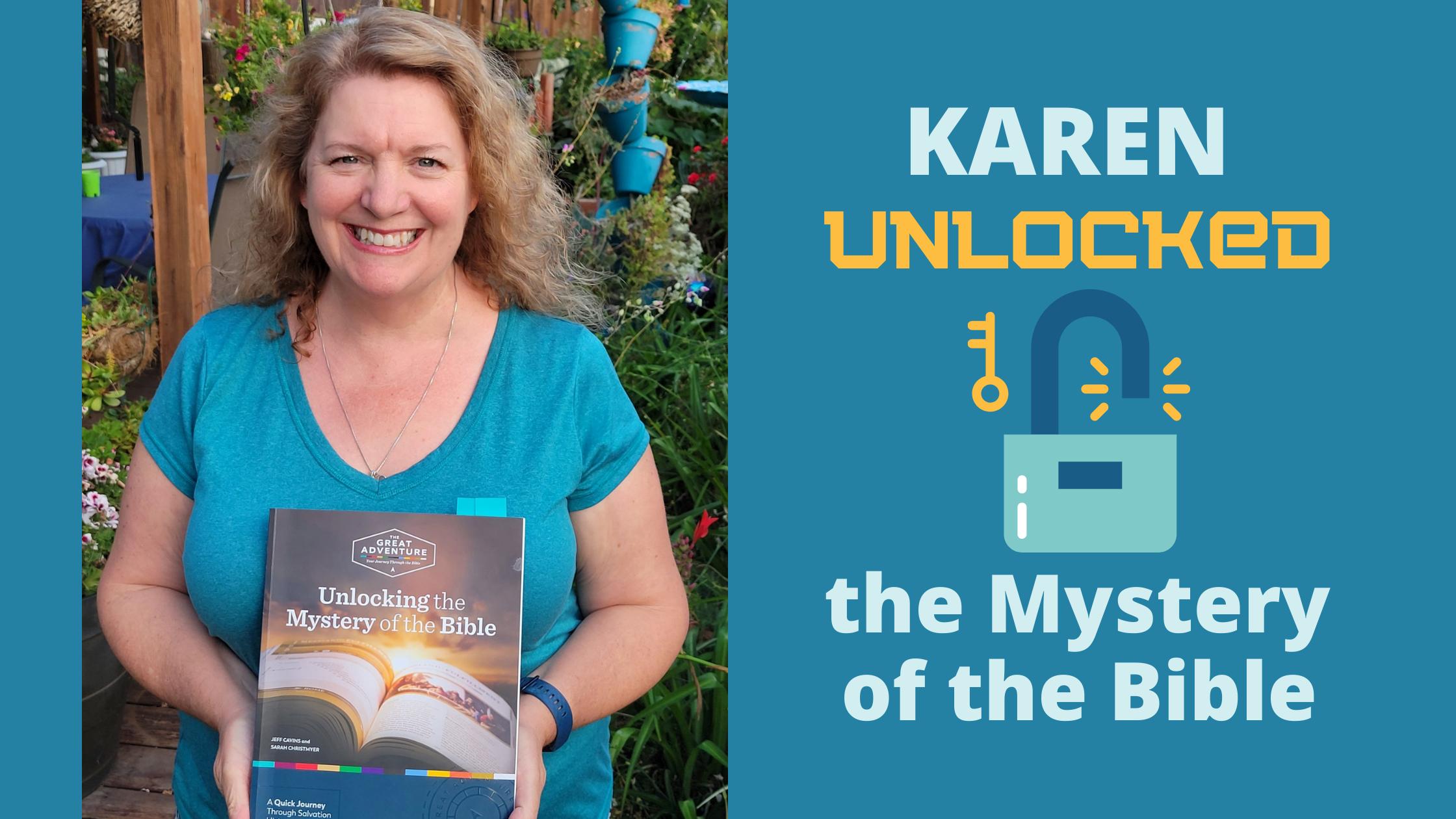 Karen Unlocked The Mystery Of The Bible   Blog