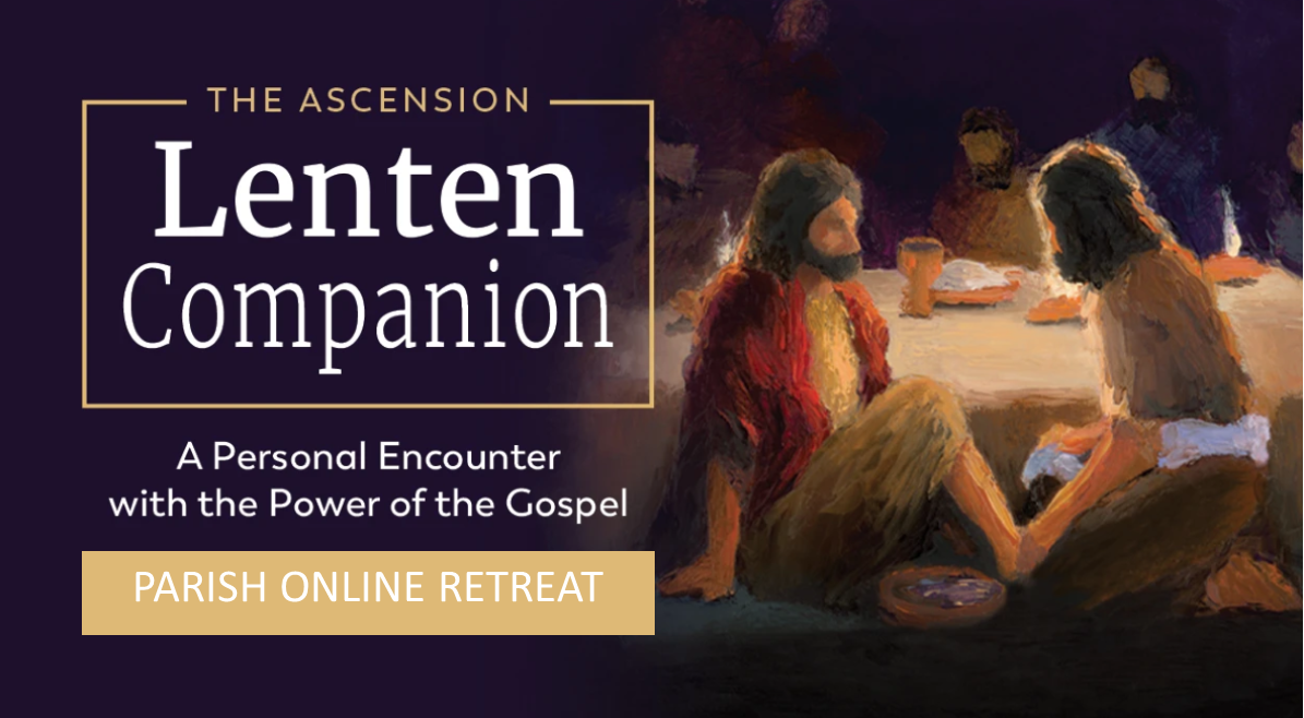 Lenten Online Retreat Banner 2021
