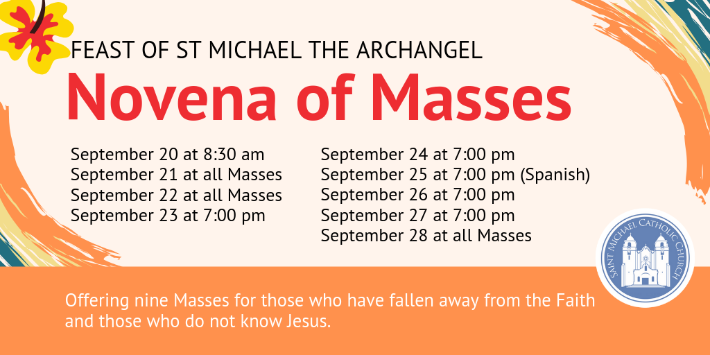 Novena Of Masses revised