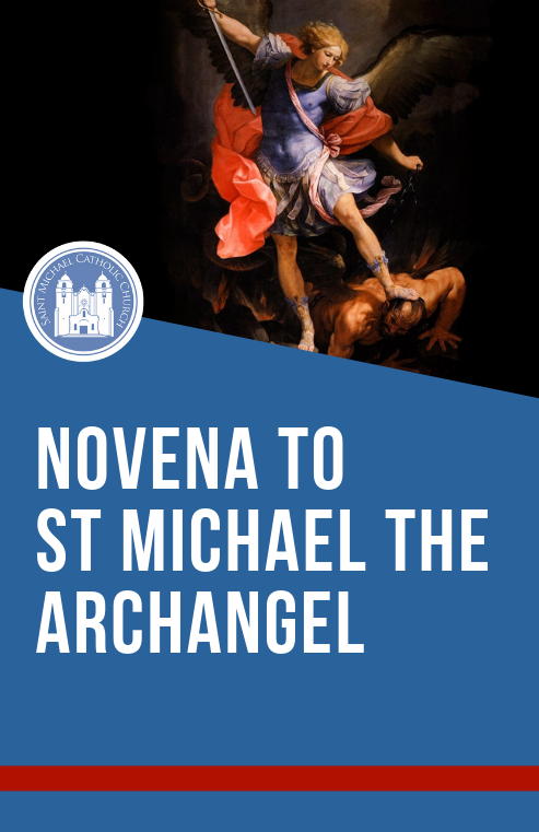 Novena To St Michael   Cover Eng