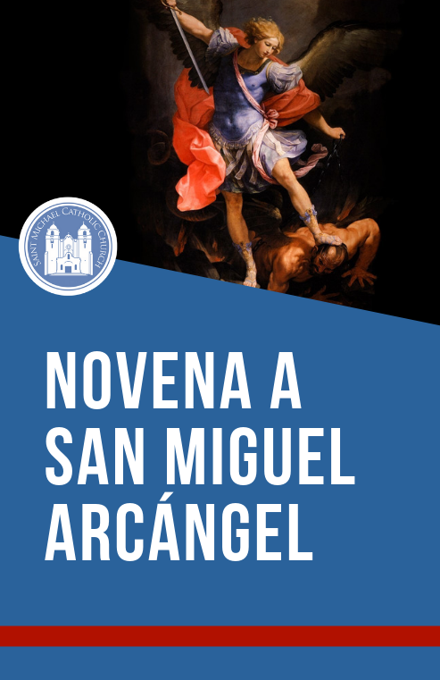 Novena To St Michael   Cover Sp