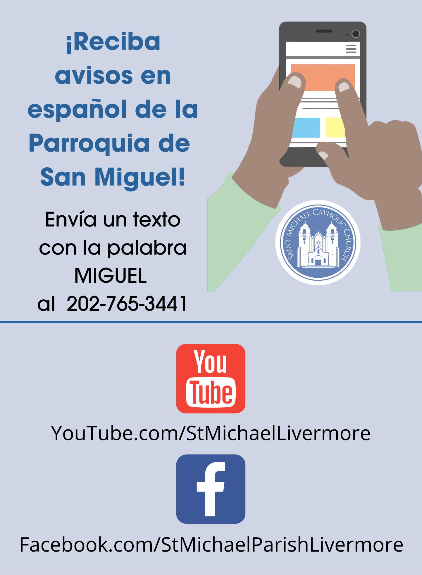 Parish Social Media Spanish