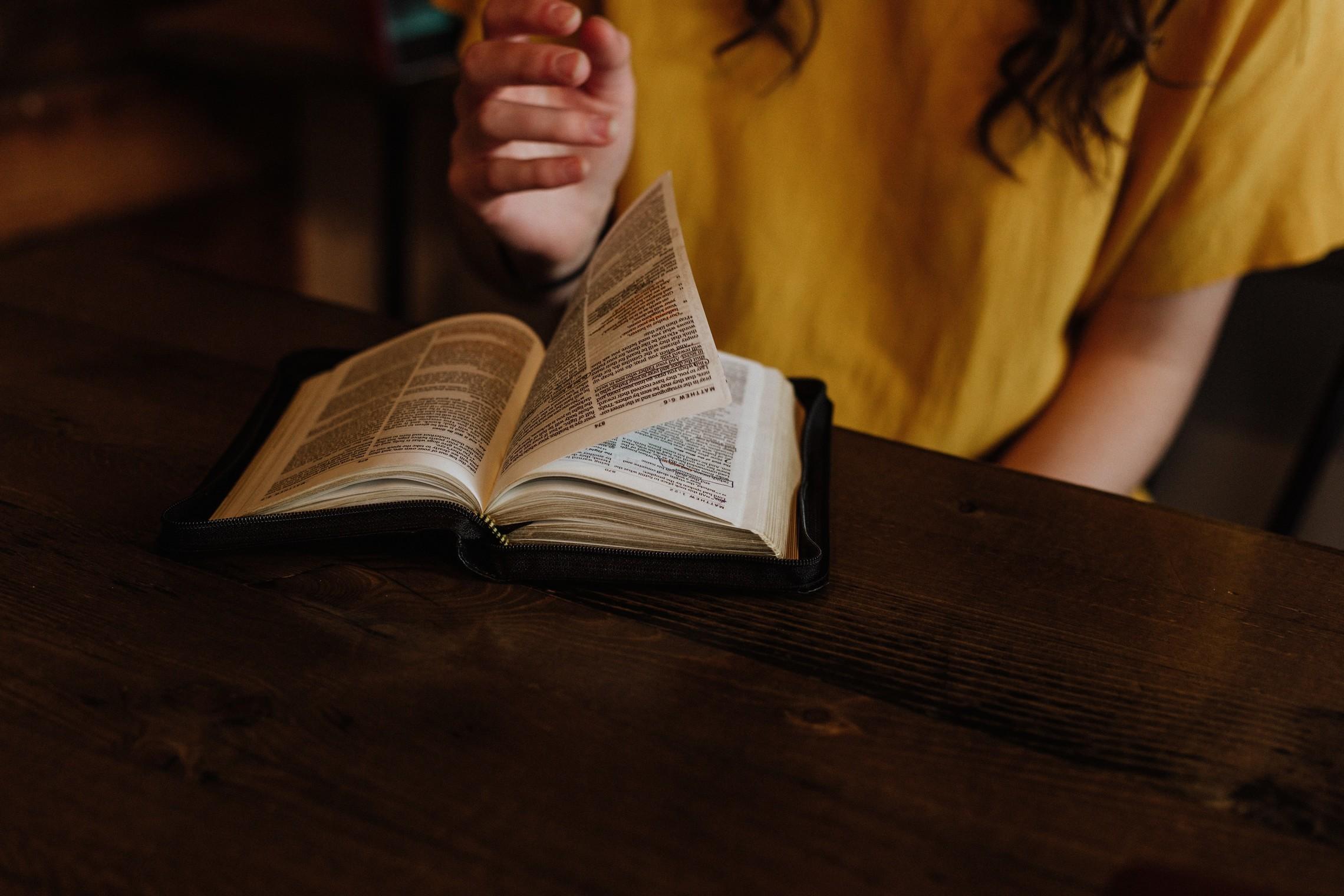Prison bible study
