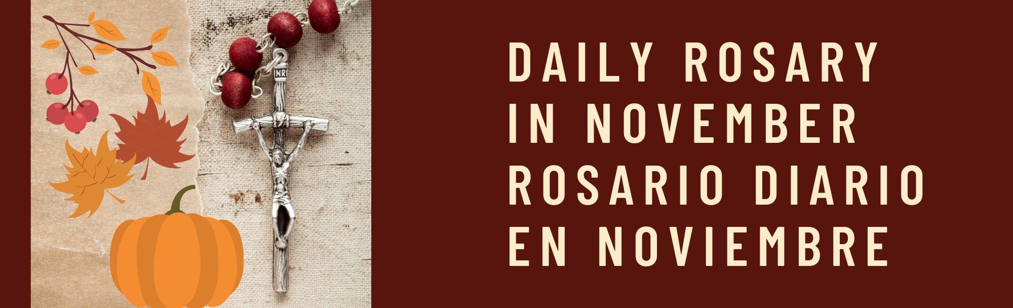 Rosary In November