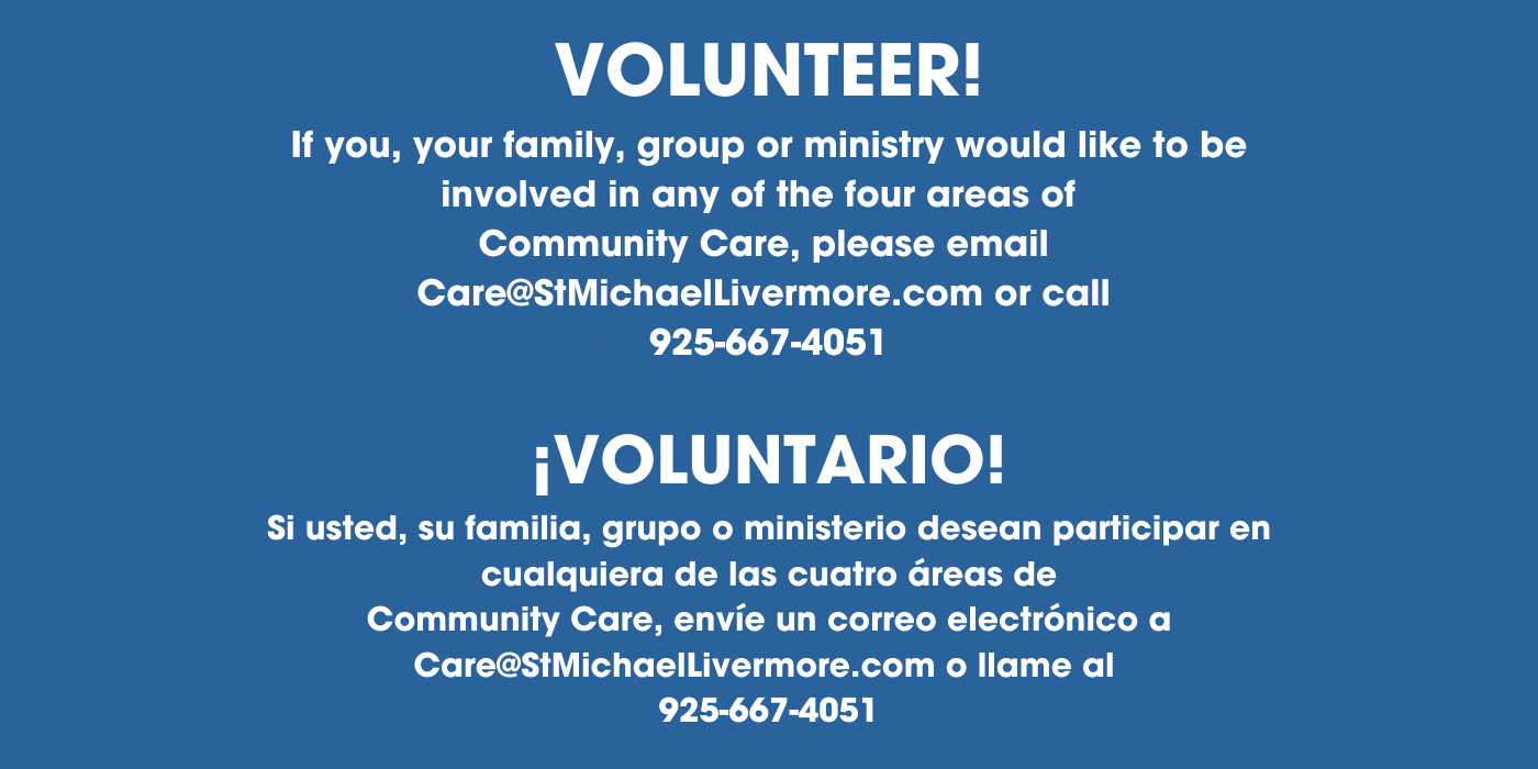 Taller Volunteer Community Care Banner