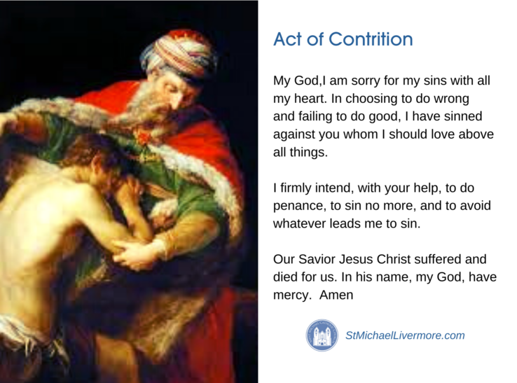 Act Of Contrition Thumbnail