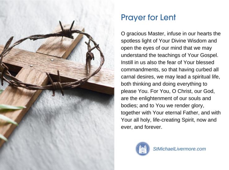 Lent Prayer Thumbnail