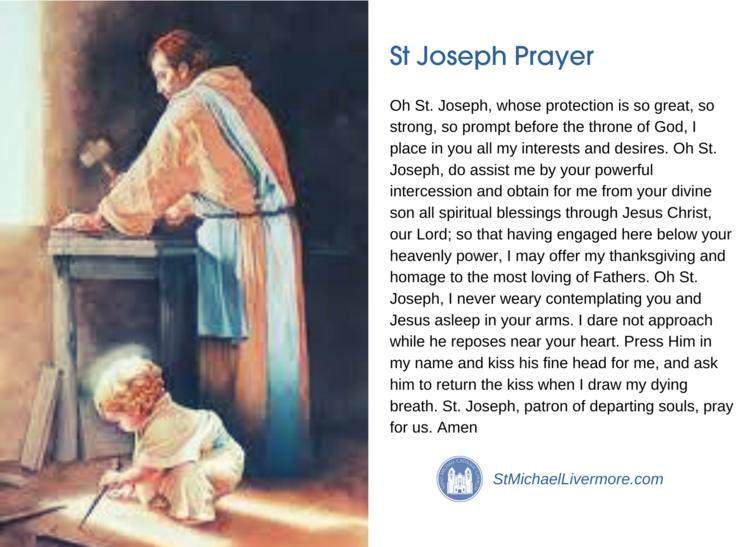St Joseph Prayer Thumbnail