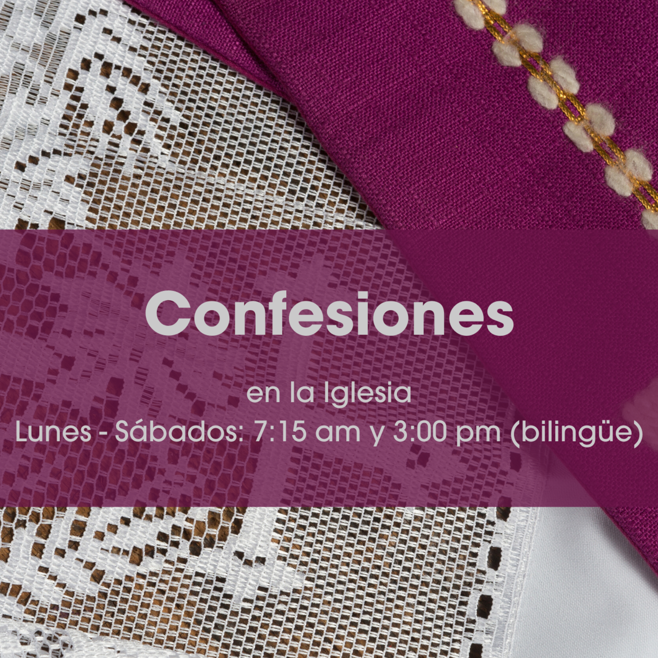 Confession July 6 - Spanish