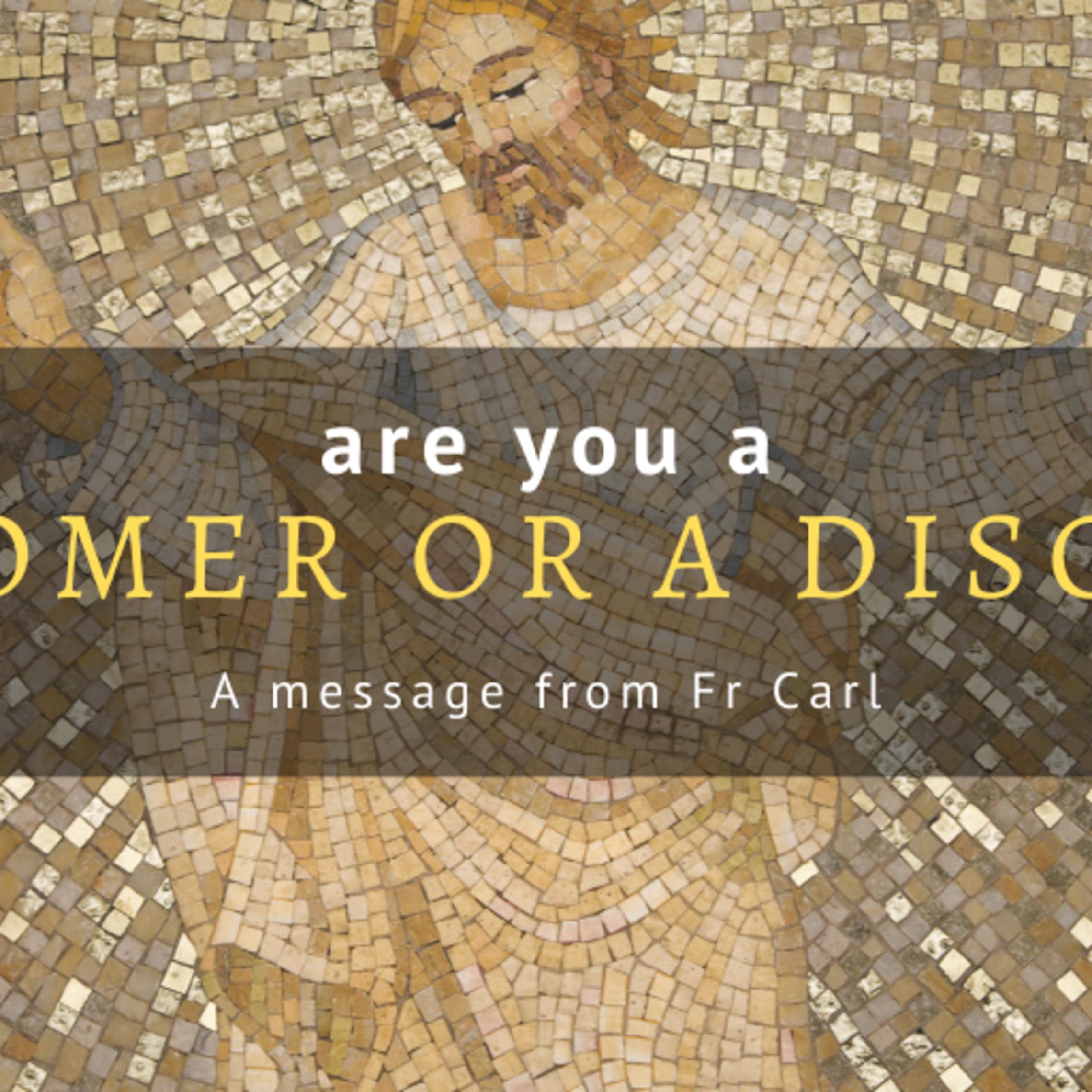 Customer Or Disciple