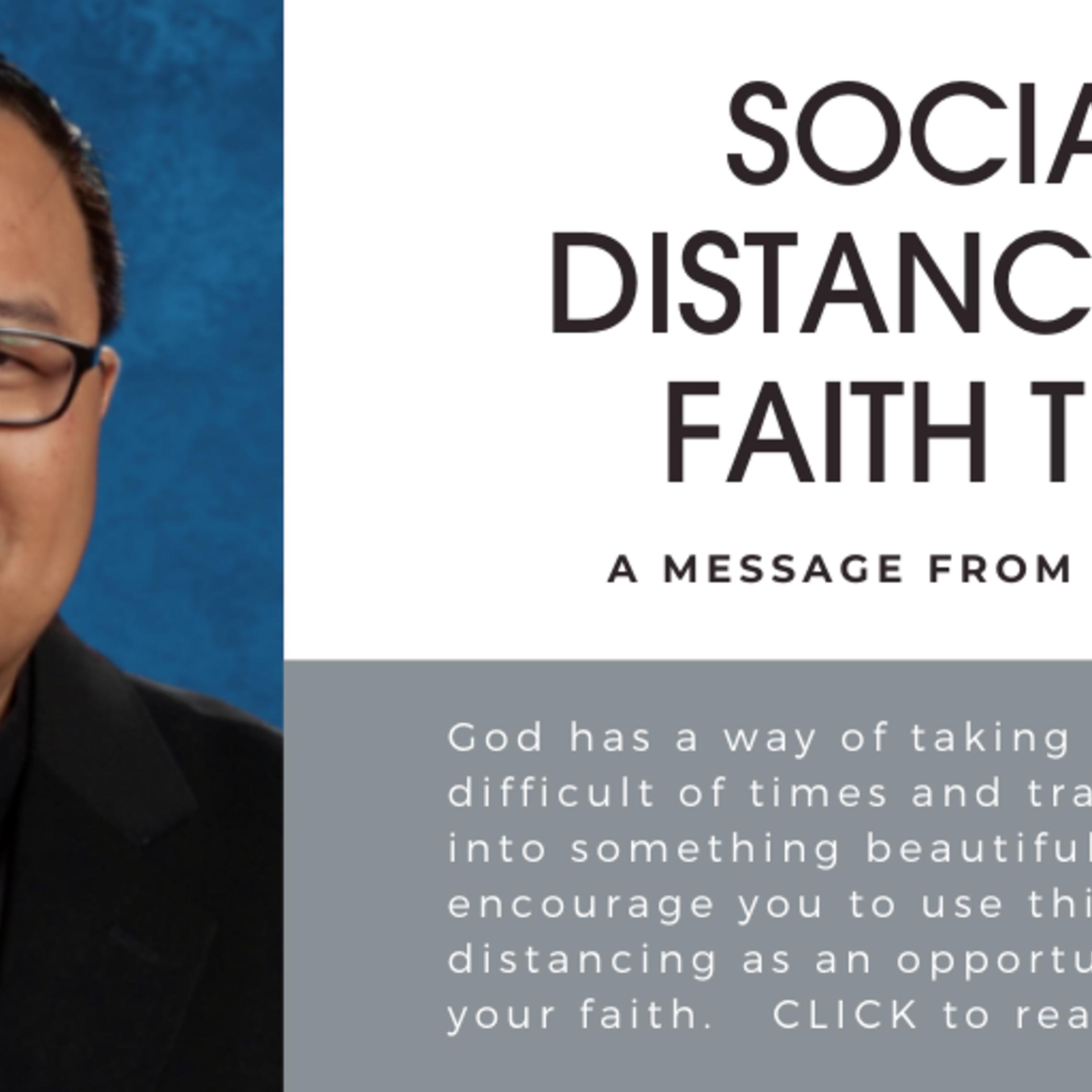 social distancing faith tips