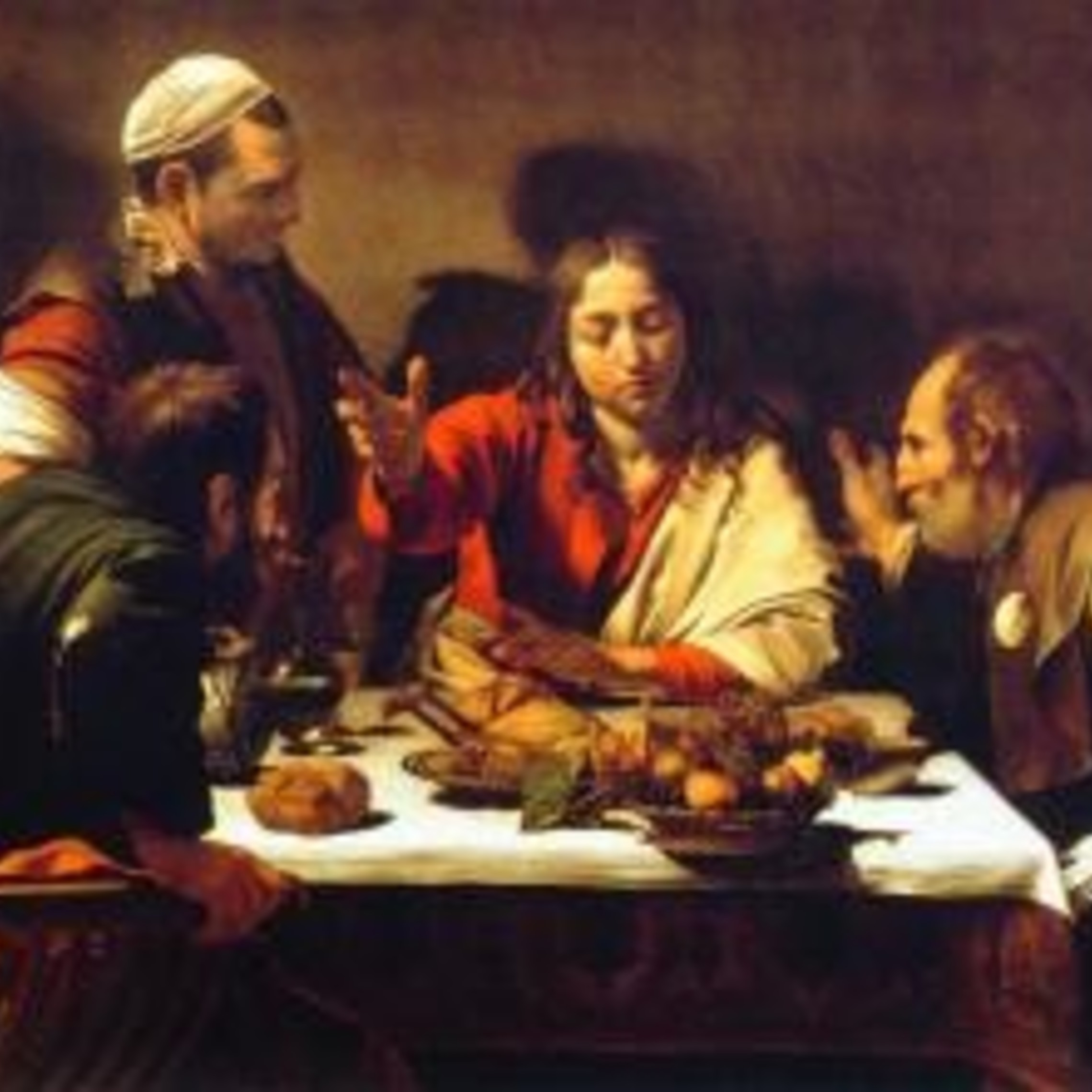 Emmaus By Carravagio