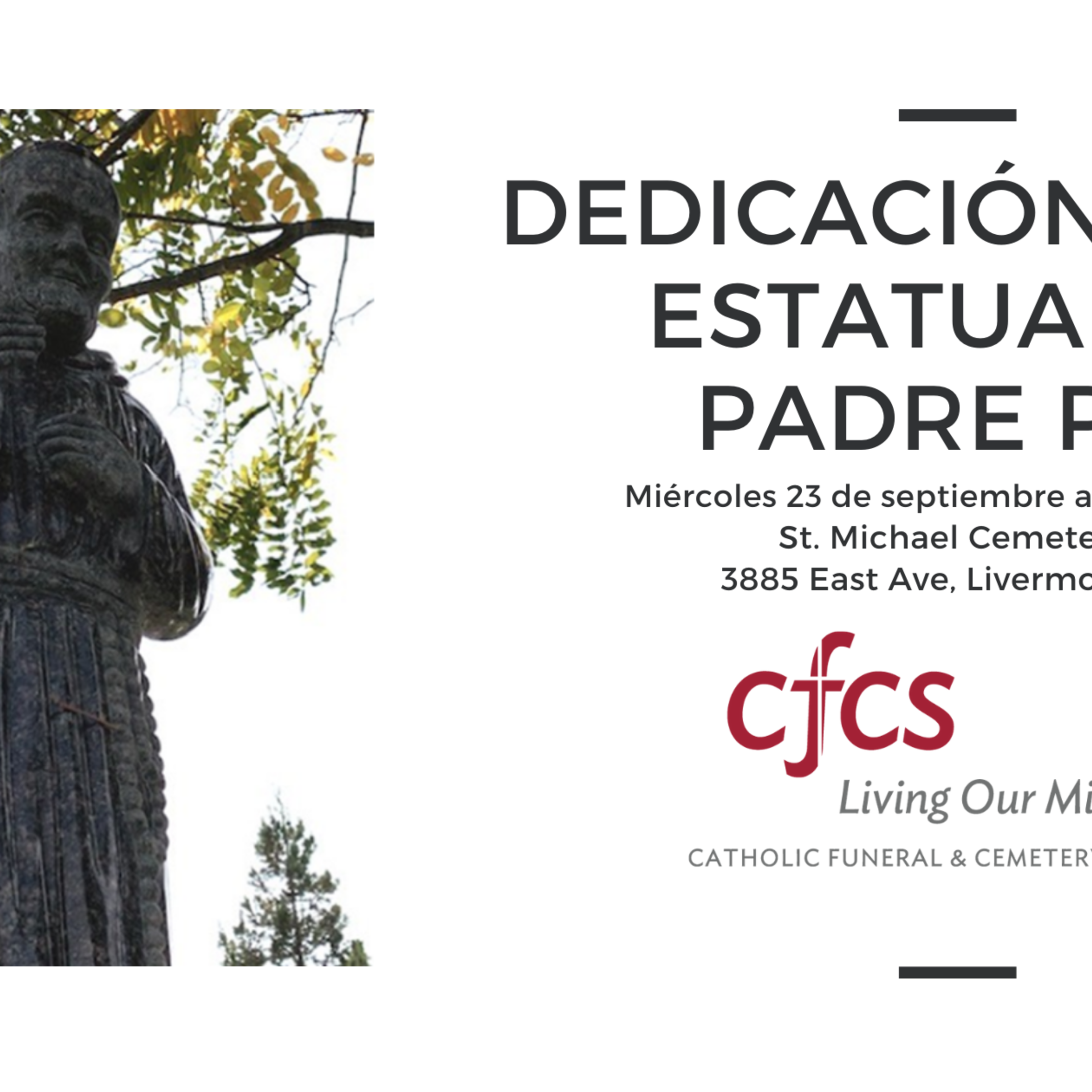 St Padre Pio Dedication Spanish