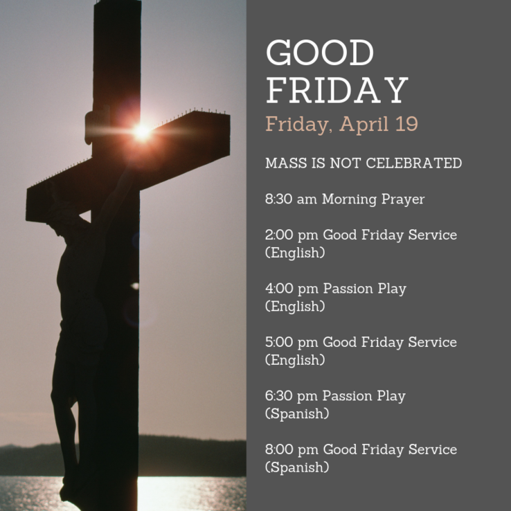 Good Friday Revised
