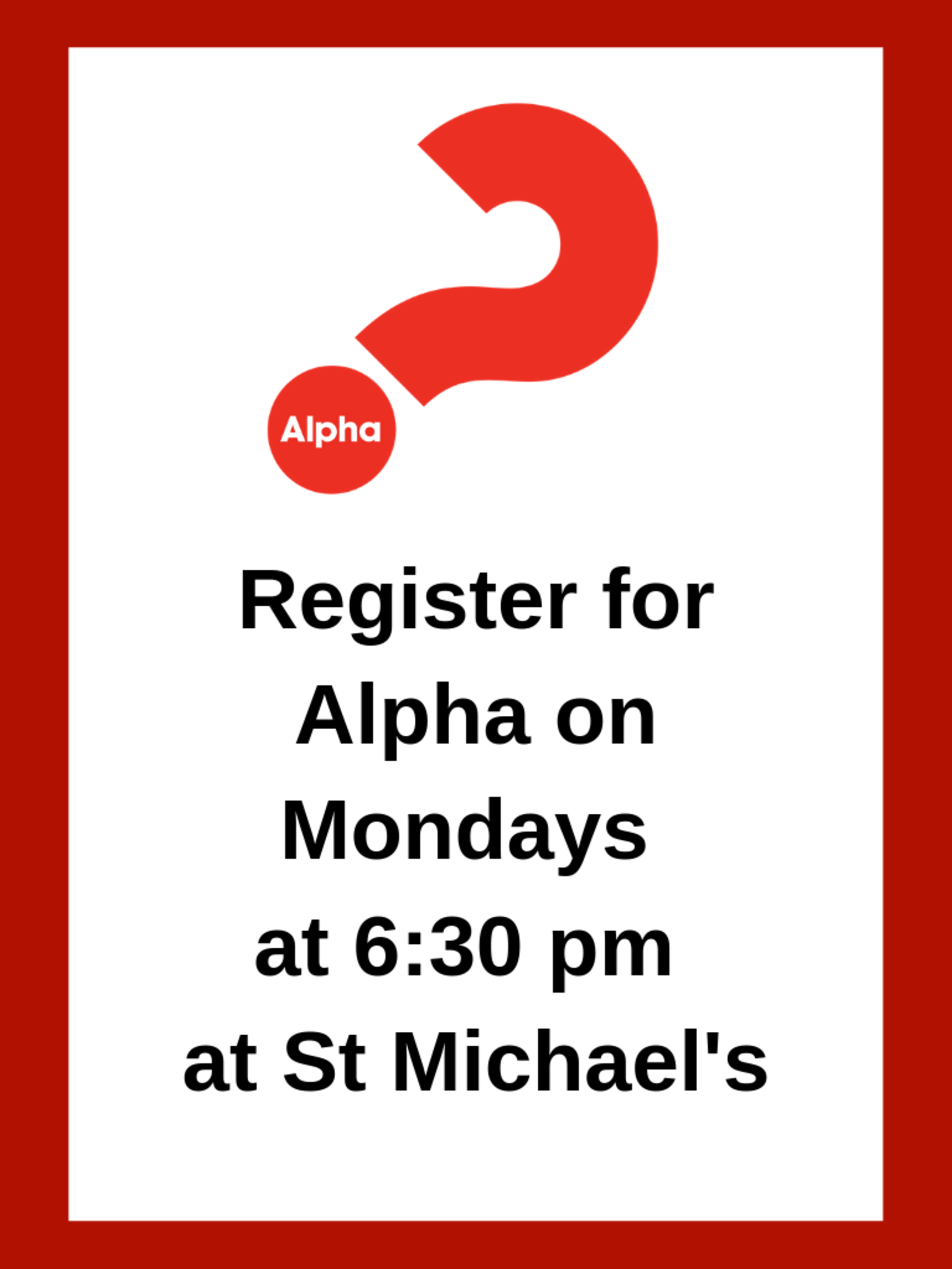 Register For Alpha   Web