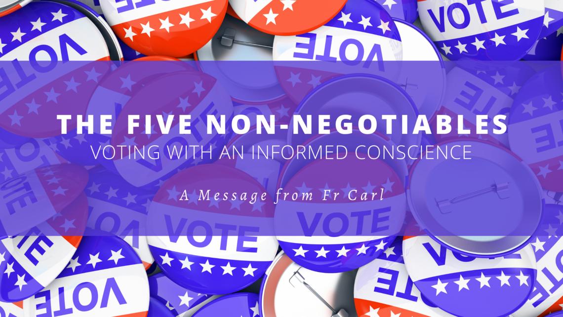5 Non Negotiables English