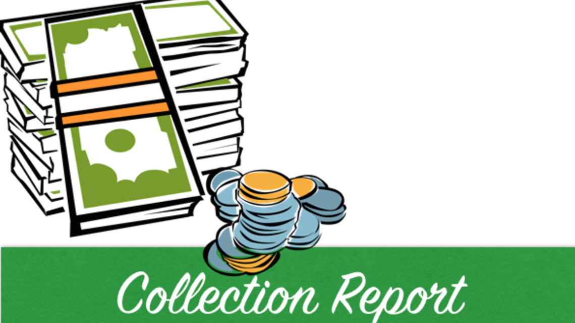 Title Church Donation Collection Report St Michael Livermore
