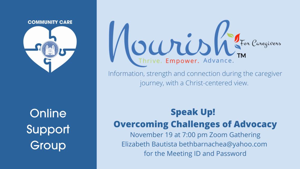 Community Care Nourish   Nov 2020
