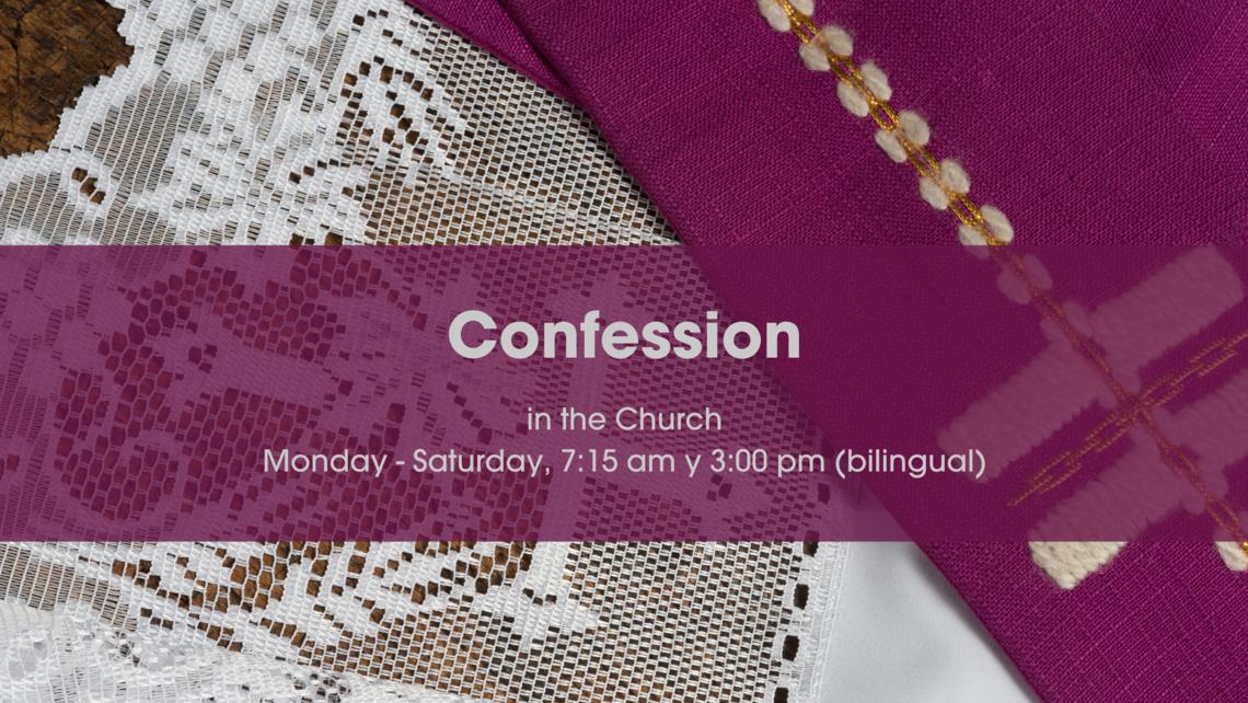 Confession July 6 English