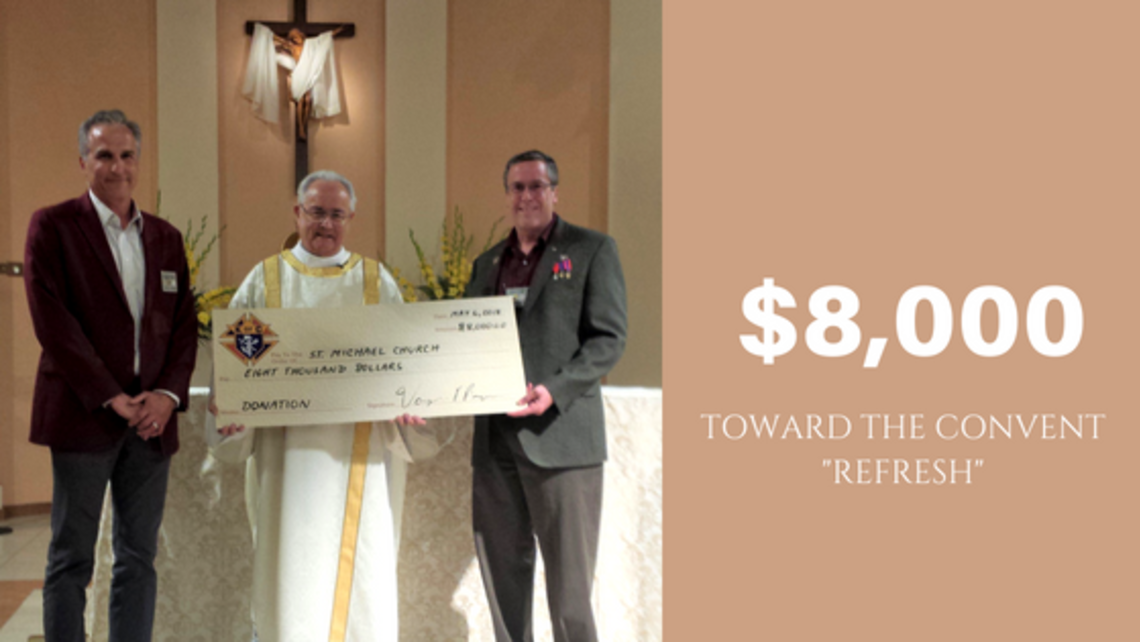 Convent Refresh Donation