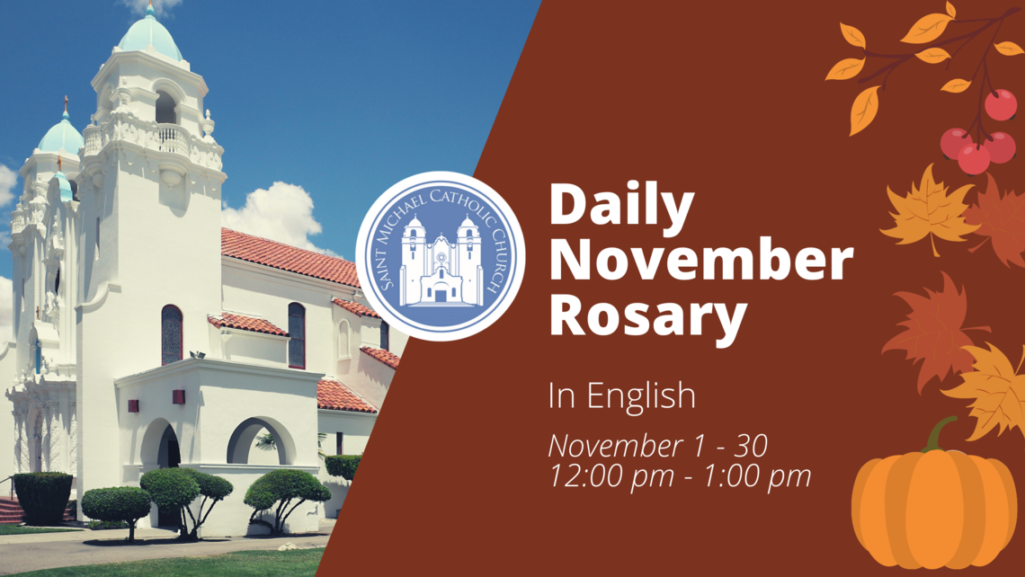 Daily Rosary In English - November
