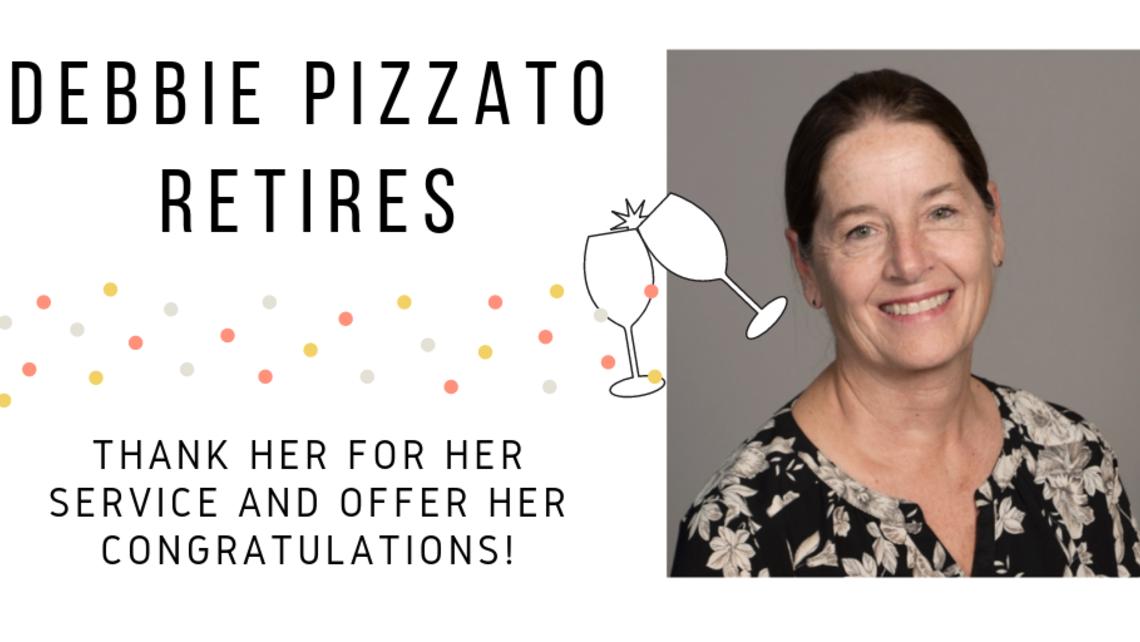 Debbie Pizzato Retires