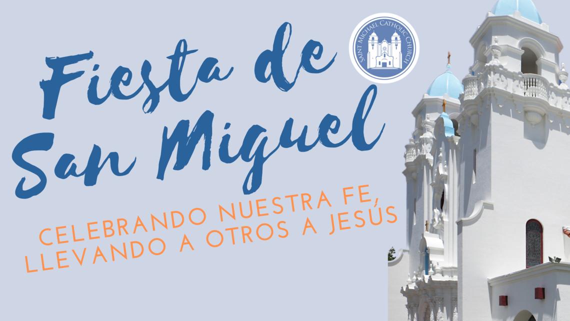 Feast Of St Michael Blog Banner 1