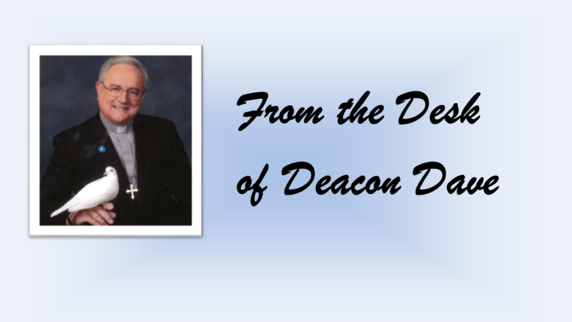 From The Desk Of Deacon Dave