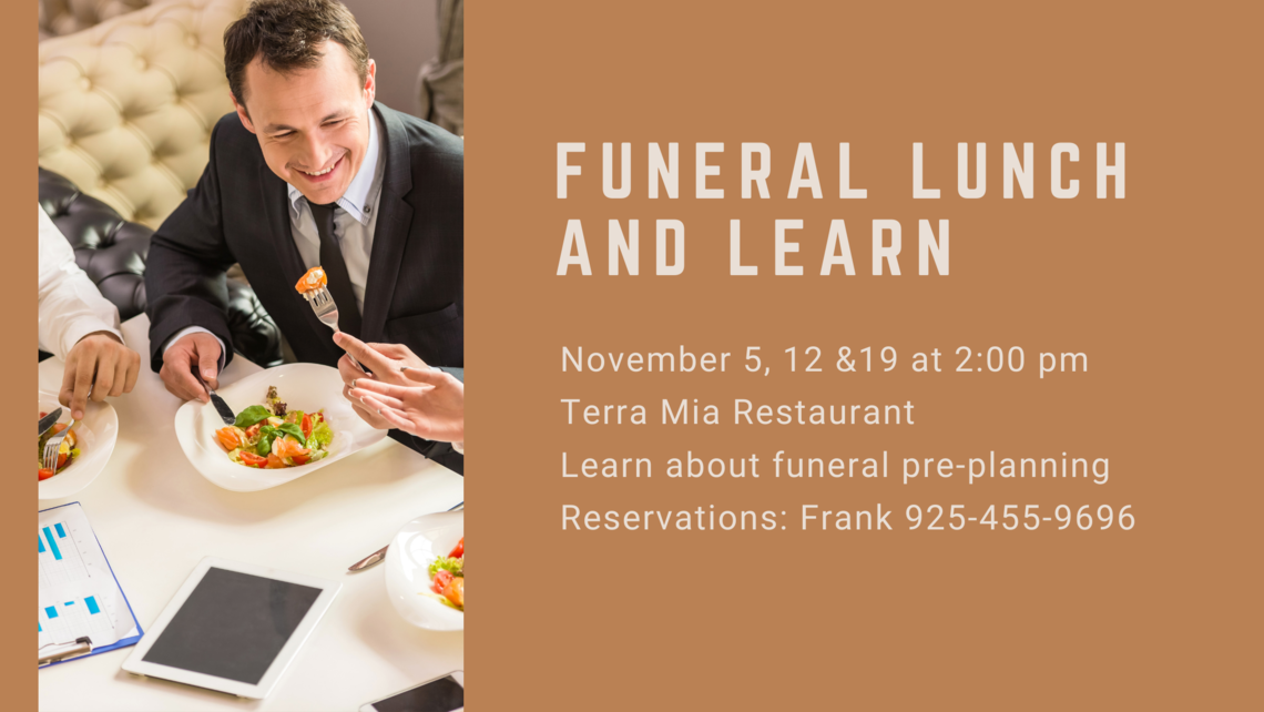Funeral Lunch And Learn