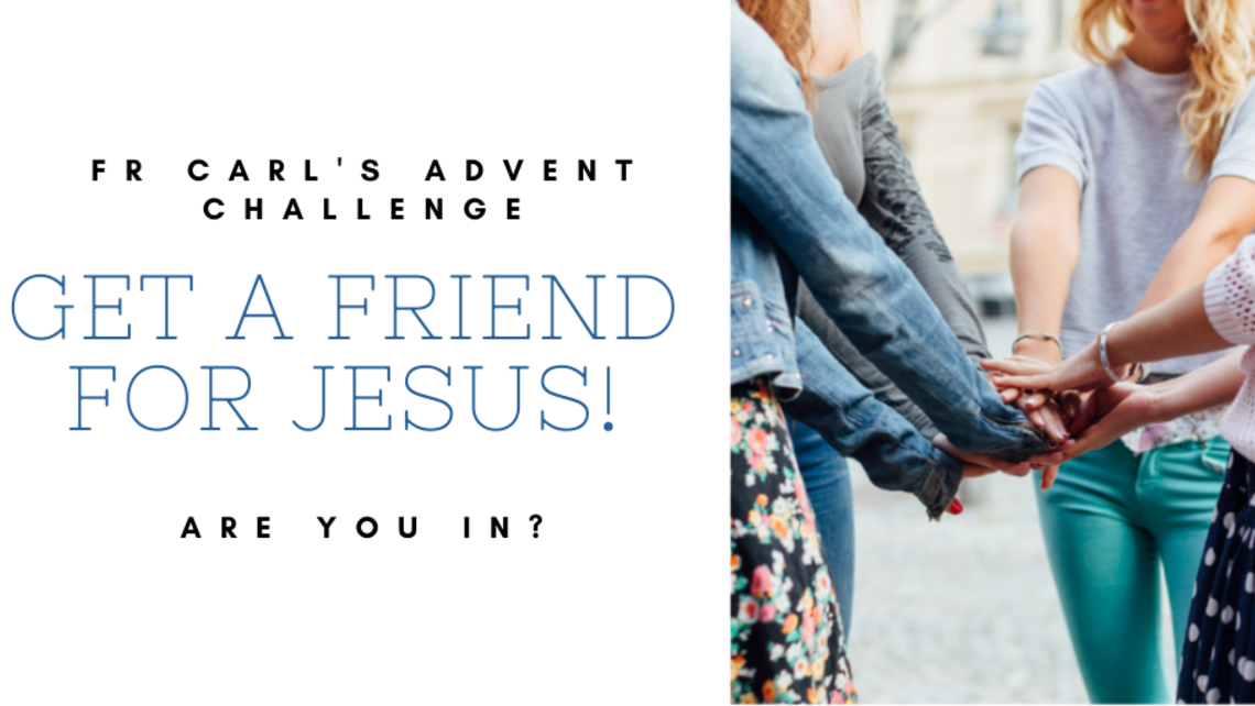 Get A Friend For Jesus